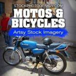Motos and Bicycles RF Photos for all your Websites and Projects