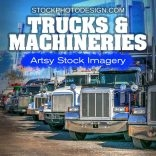 Trucks and Industrial Machinery RF Photos for all your Websites and Projects