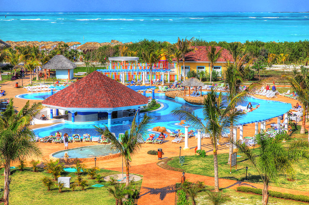Caribbean Resort - RF Stock Photo