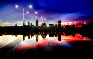 Montreal City Urban Montage 05 - RF Stock Photo