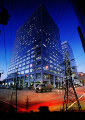 Downtown Electricity Supply Photo Montage