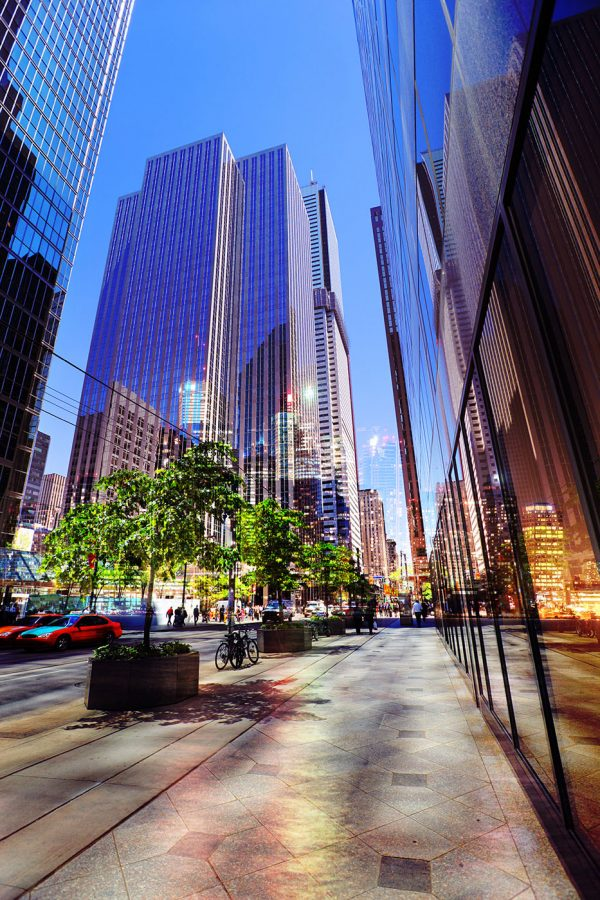 Downtown Office Street 4 - RF Stock Photo