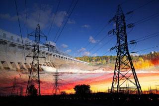 Electric Dam 02 - RF Stock Photo
