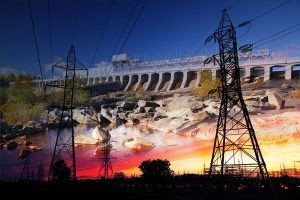 Electric Dam 03 - RF Stock Photo