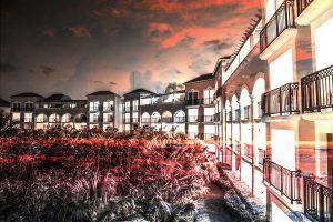 Hotel Resort Photo Montage 02 - RF Stock Photo
