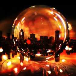 Lensball and Montreal City