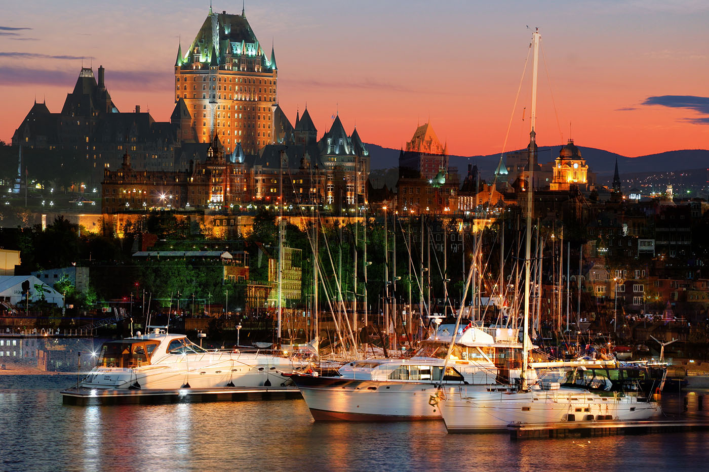 Quebec City Marina - RF Stock Photo