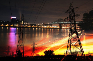 Urban Electrification - RF Stock Photo