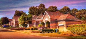 Cozy Neighborhood 01 - RF Stock Photo