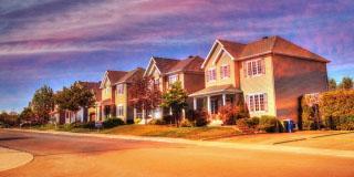 Cozy Neighborhood 02 - RF Stock Photo