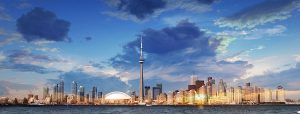 Toronto City Daytime Skyline - RF Stock Photo