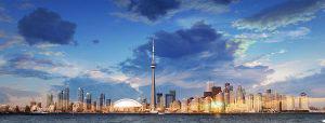 Toronto City Daytime Skyline - RF Stock Photo