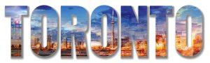 Toronto Text 1 - RF Stock Photo