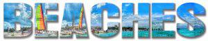 Beaches Text Photo Montage 1 - RF Stock Photo