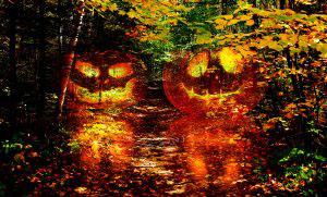 Halloween Scary Wood 1 - RF Stock Photo