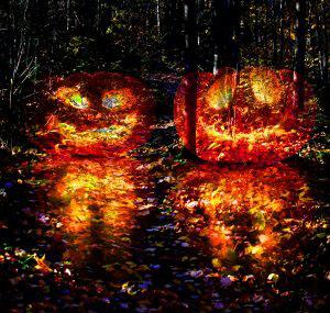Halloween Scary Wood 3 - RF Stock Photo