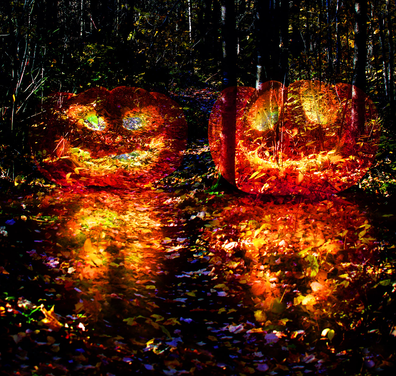 Halloween Scary Wood 3 - RF Stock Photo