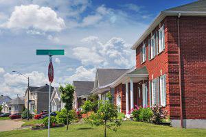 Quiet Neighborhood - RF Stock Photo