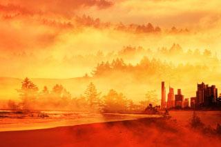 Colorful Apocalyptic Imagery 05 - RF Stock Photo