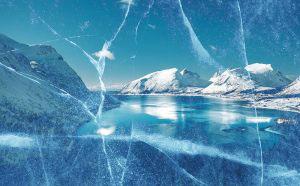 Unleashed Ice Age 02 - RF Stock Photo
