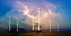 Windmill Energy Production 01 - RF Stock Photo