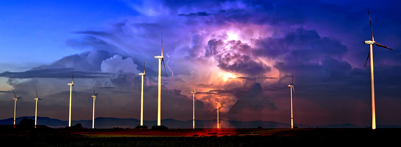 Windmill Energy Production 02 - RF Stock Photo
