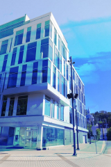 Street Corner Office Building 01 - RF Stock Photo