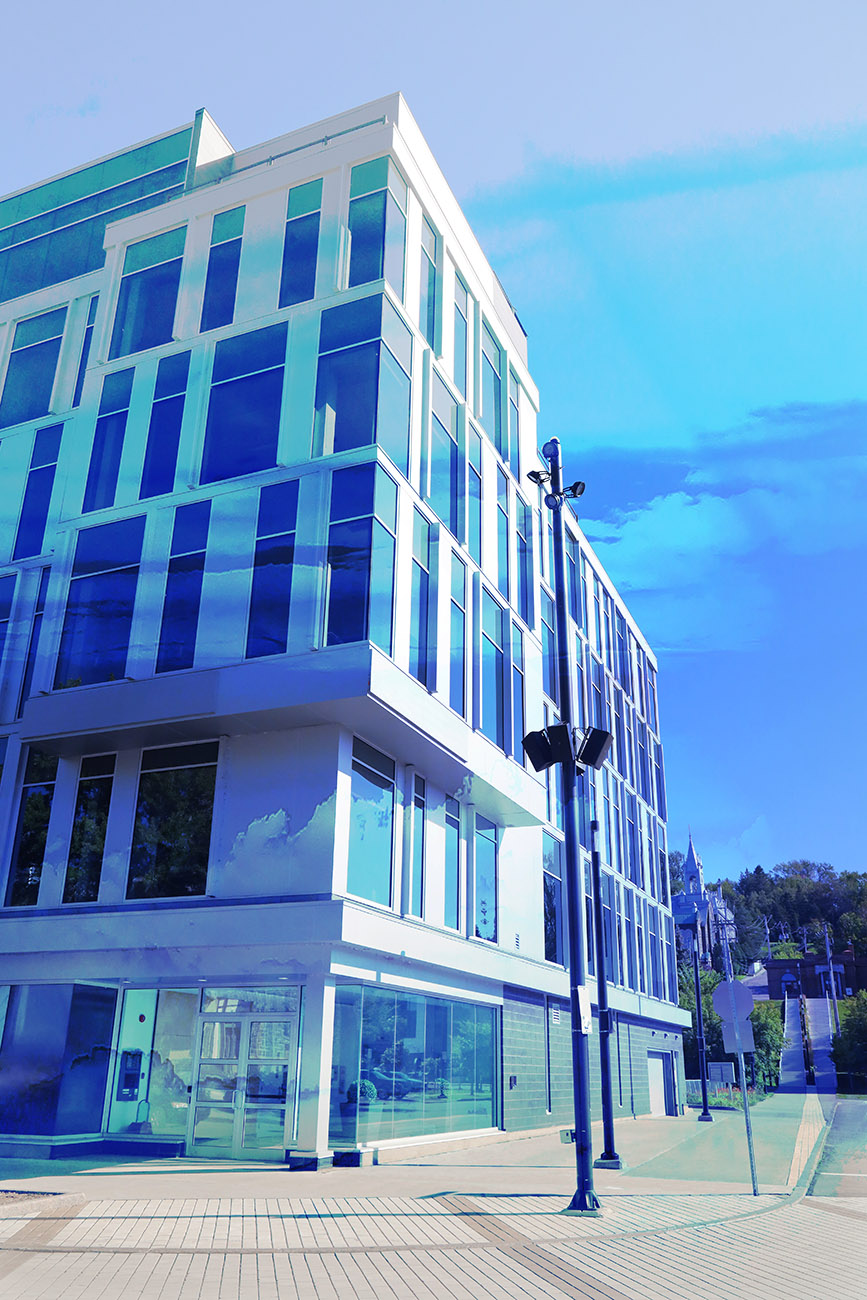 Street Corner Office Building 01 - RF Stock Photo