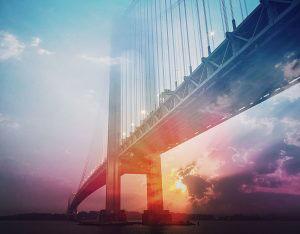 Surreal Suspension Bridge 01 - RF Stock Photo