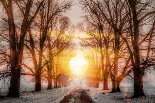 Wintery Road 01 - RF Stock Photo