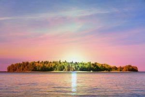 Peaceful Remote Island - RF Stock Photo