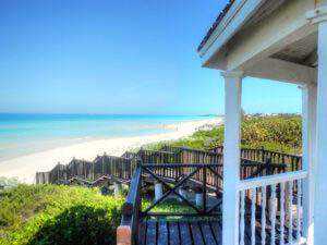 Tropical Sea Beachfront Access